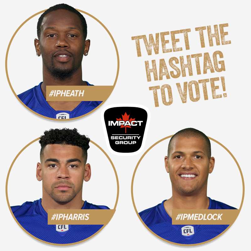 Vote for the Impact Player of the Game!